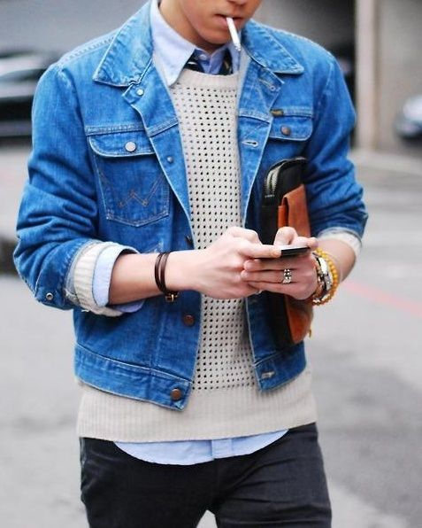 Blue Denim Jacket Pictures Photos And Images For Facebook Tumblr