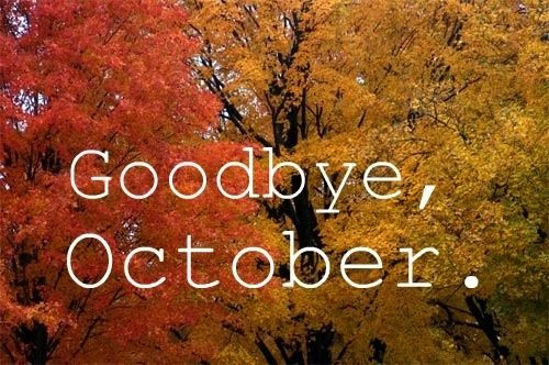 Image result for goodbye october