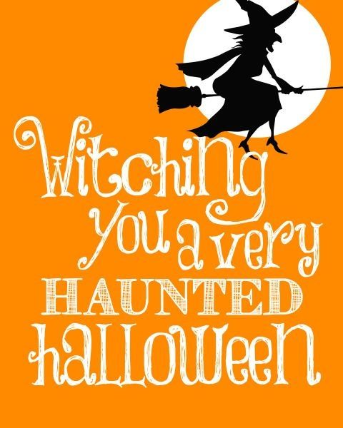Friends Quotes Wicked Wango Card : Witching You A Haunted Halloween  Pictures Photos And