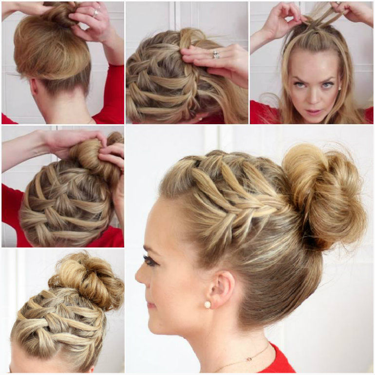 DIY Waterfall Braid Pictures Photos And Images For Facebook - Braid diy pinterest
