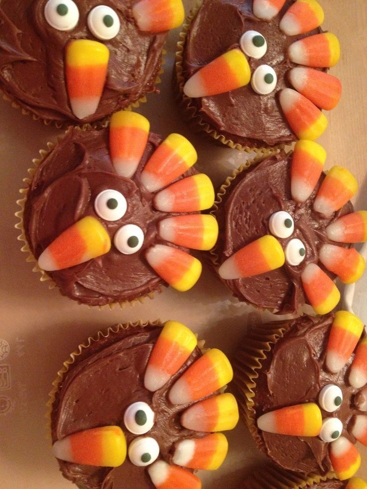 Giada's sweet mini turkeys are easy enough for kids to assemble and will make an adorable addition to any Thanksgiving dessert spread.