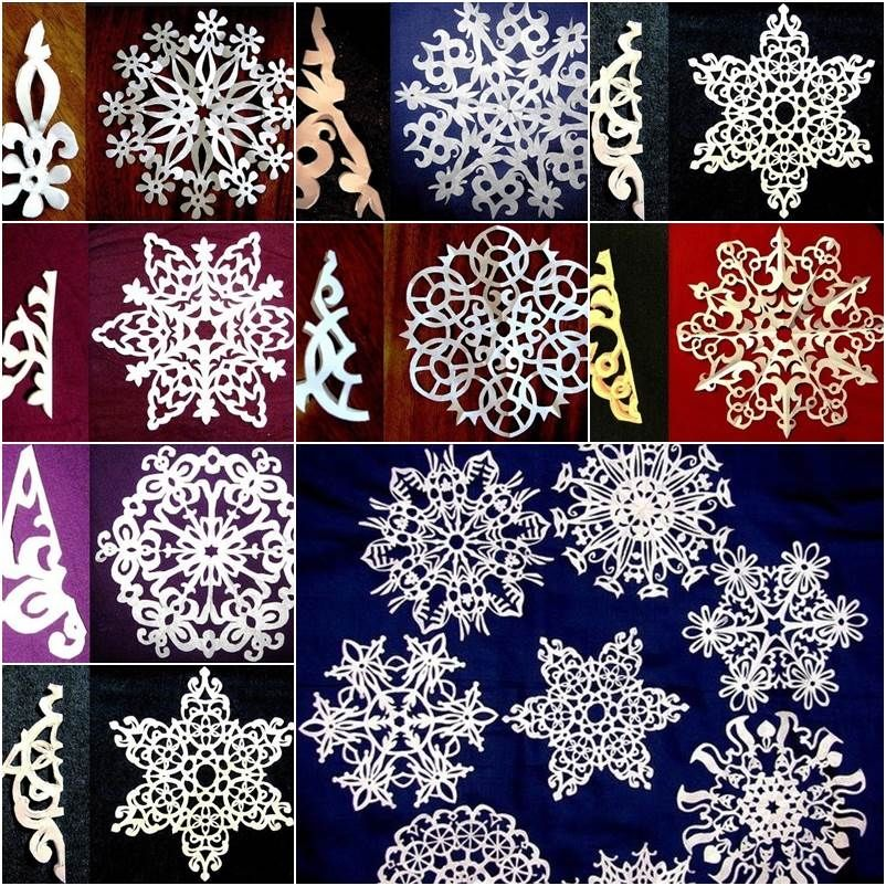 Diy Paper Snowflake Craft Pictures Photos And Images For Facebook