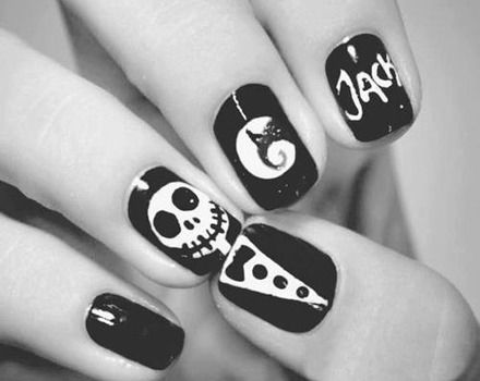 Jack Skellington Nail Art Pictures Photos And Images For Facebook