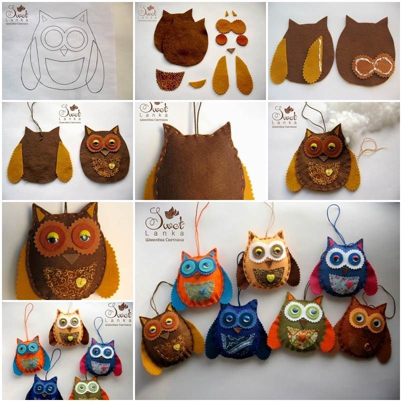 Felt Owl Diy Pictures Photos And Images For Facebook