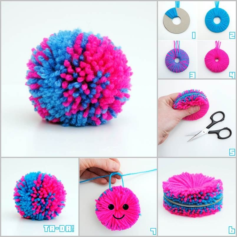 yarn pompom diy pictures photos and images for facebook