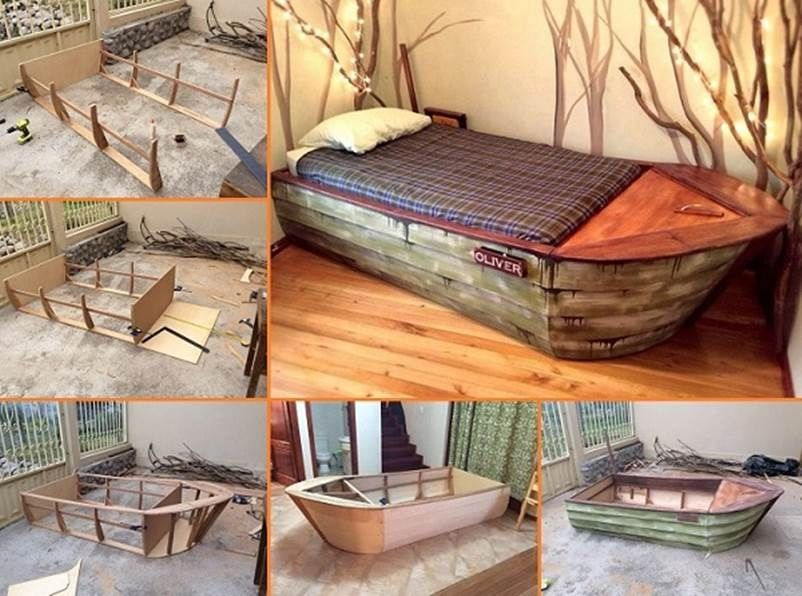 Diy Boat Bed Pictures Photos And Images For Facebook
