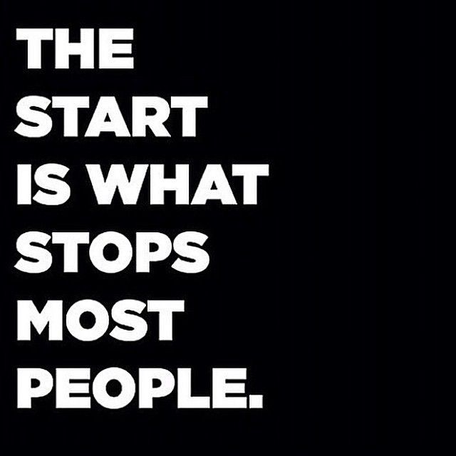 The Start Is What Stops Most People Pictures, Photos, and Images for ...