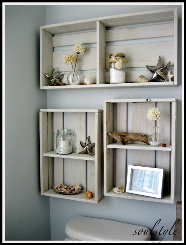 Perfect Here Are A Few Ideas Ive Put Into Action That Have Greatly Helped The Storage Issues In Our Home Builtin Walltowall Shelving I Have Now Built These Shelves In Two