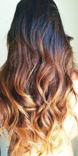 Superior Honey Dipped Hair Curls