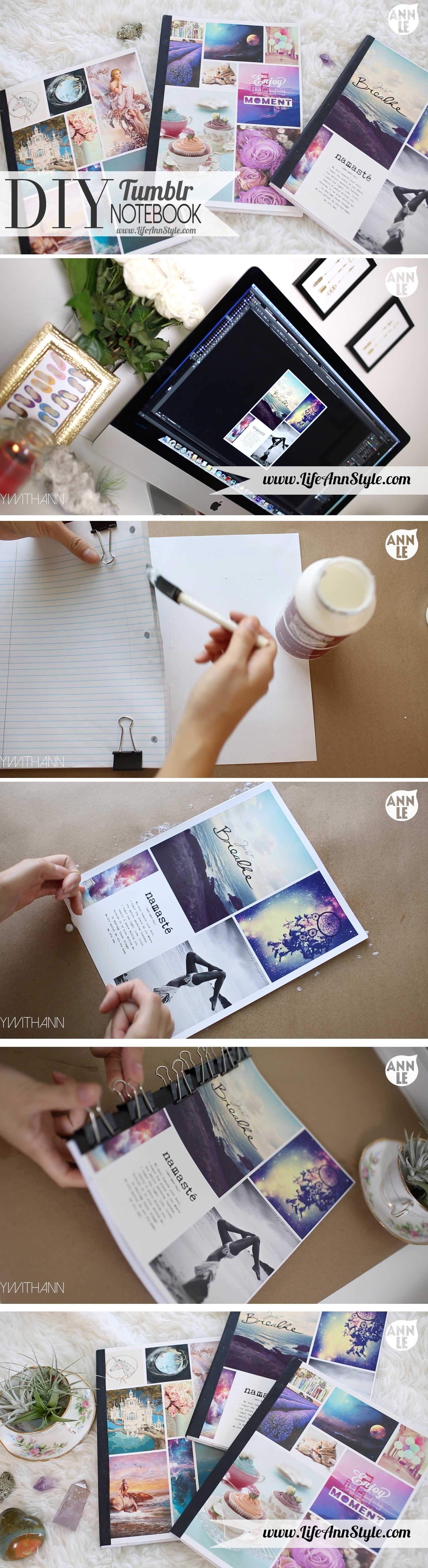 DIY Tumblr Inspired Notebook Pictures, Photos, and Images ...