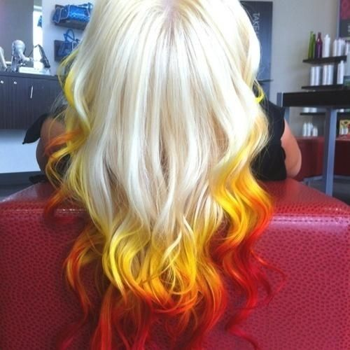 Fire Ombre Hair Pictures, Photos, and Images for Facebook, Tumblr ...