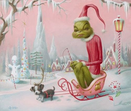 Christmas Art.The Grinch Christmas Art Pictures Photos And Images For