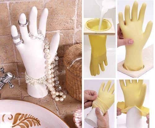 DIY Craft Hand Jewelry Stand