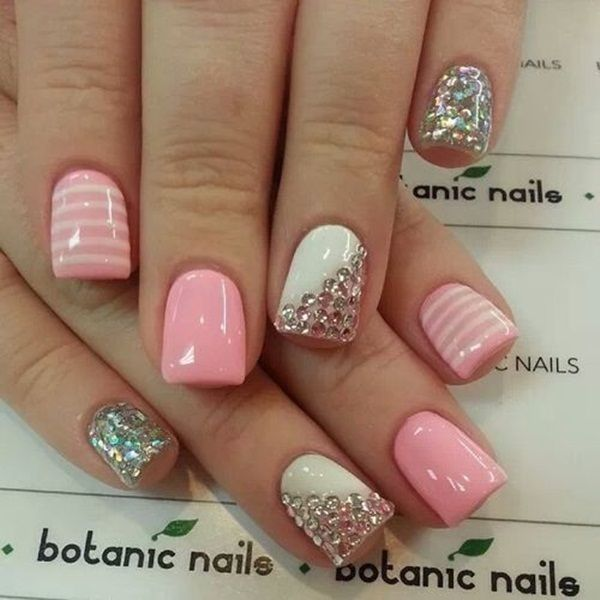 Nail Art For Short Nails Plain: Pretty Nail Art For Short Nails Pictures, Photos, And