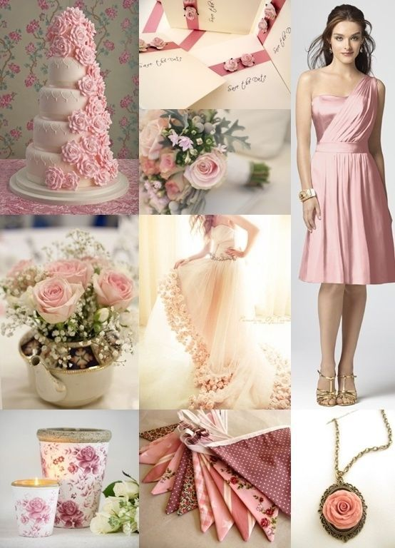 Pink Rose Wedding Theme Pictures Photos And Images For