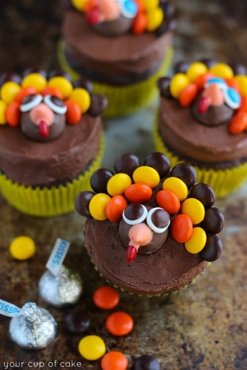 Cute Cake Ideas For Thanksgiving : Cute Thanksgiving Cupcakes Pictures, Photos, and Images ...
