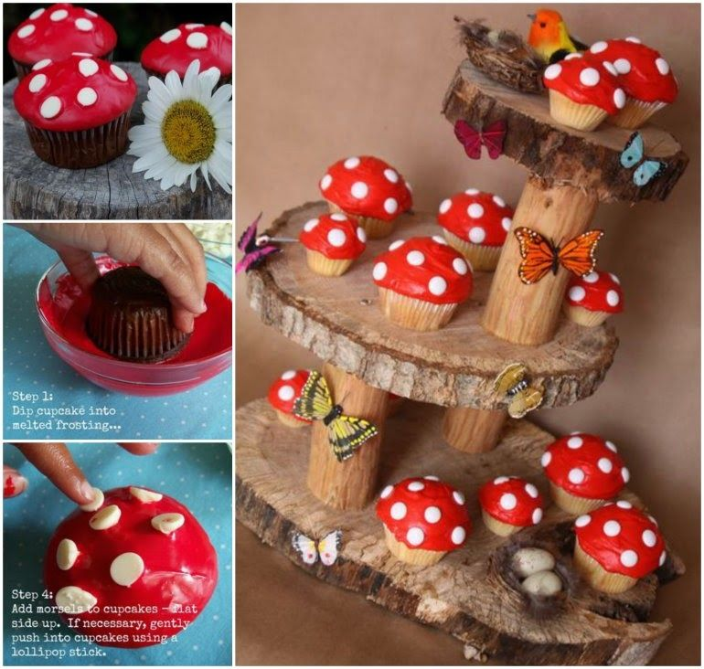 Design Your Own Cake Stand : Create Your Own Toadstool Cupcake Stand Pictures, Photos ...
