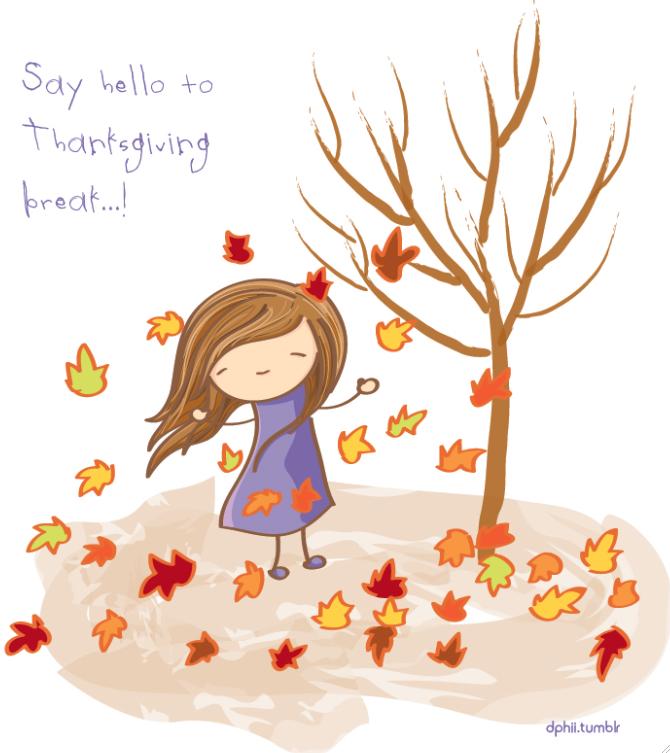Image result for thanksgiving Break