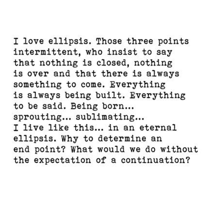 the significance of the ellipsis in Ellipsis definition is - the omission of one or more words that are obviously  understood but that must be supplied to make a construction grammatically  complete.