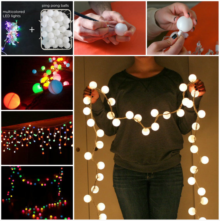 How To Make Ping Pong Lights For A Party Pictures Photos