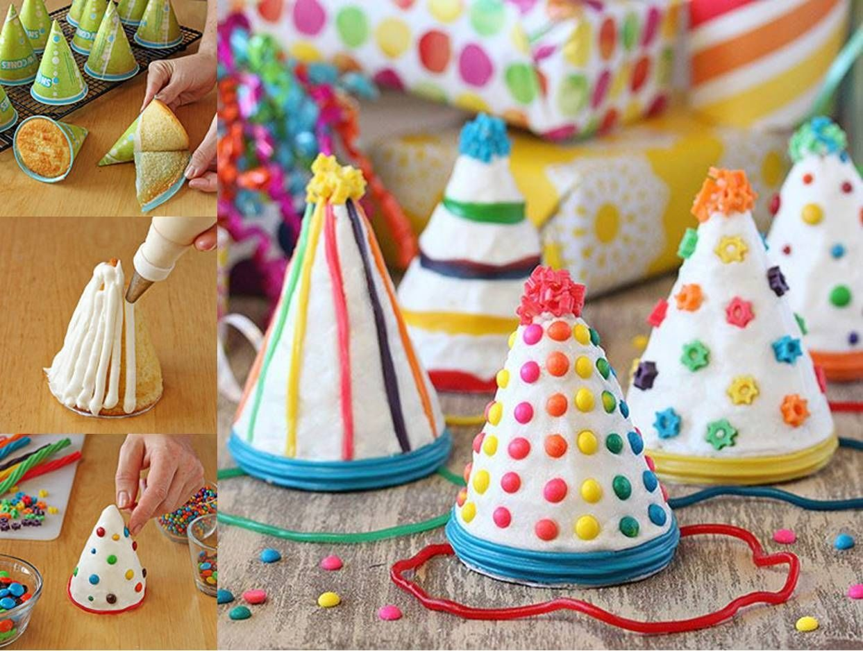 Crafting Hat Cakes For A Birthday Party Pictures Photos