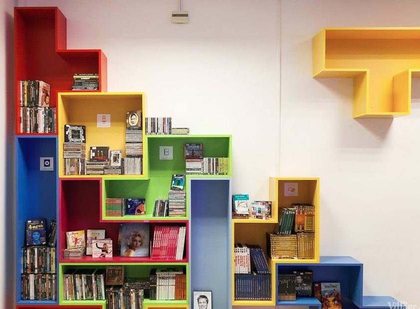 How to make shelves out of tetris blocks pictures photos for Tetris bookshelf