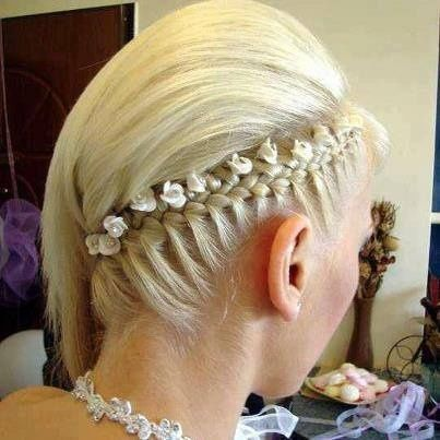 Medium Length Hair & Elegant Wedding Updo Pictures, Photos, and ...