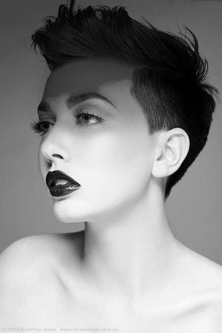 Admirable Short Hair For Women Longer Bangs Pictures Photos And Images For Hairstyles For Men Maxibearus
