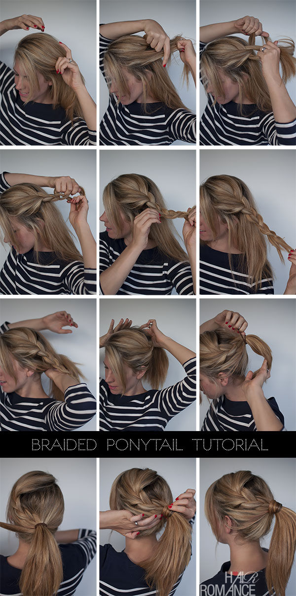 Cool Diy Braided Ponytail Pictures Photos And Images For Facebook Short Hairstyles Gunalazisus
