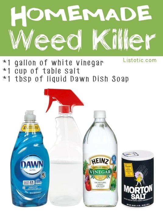 How To Make Permanent Natural Weed Killer For Vegetable Garden