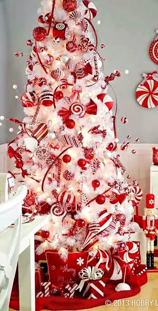 Candy Cane Colored Christmas Tree Pictures, Photos, And