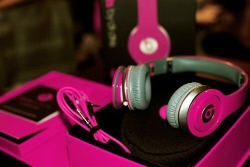 Hot Pink Headphones Pictures, Photos, and Images for