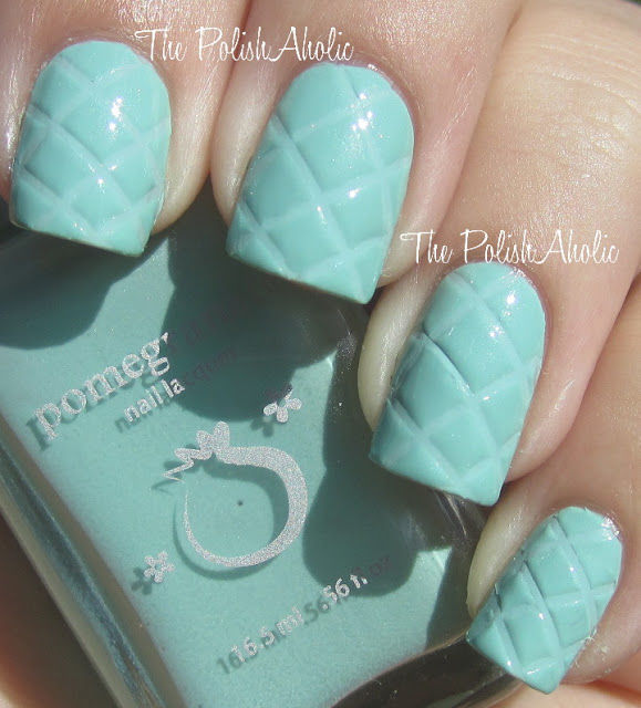 Quilt Nail Art Ideas
