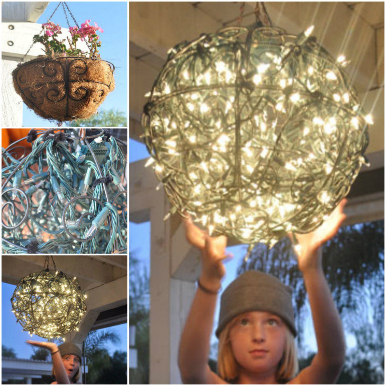 How To Make A Garden Chandelier Pictures Photos and Images for