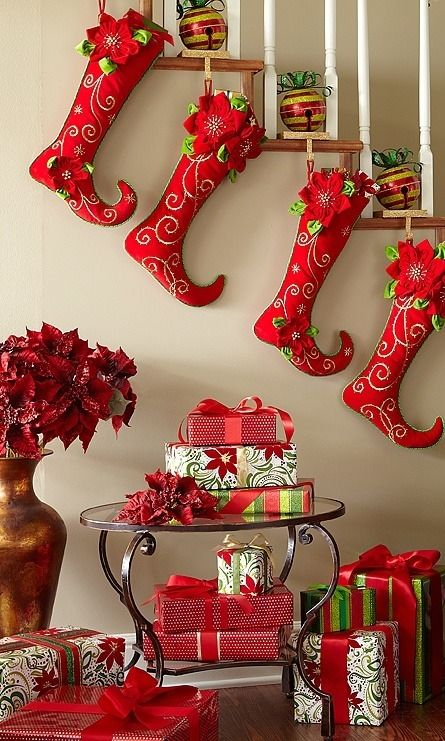 Christmas Stockings Pictures Photos And Images For