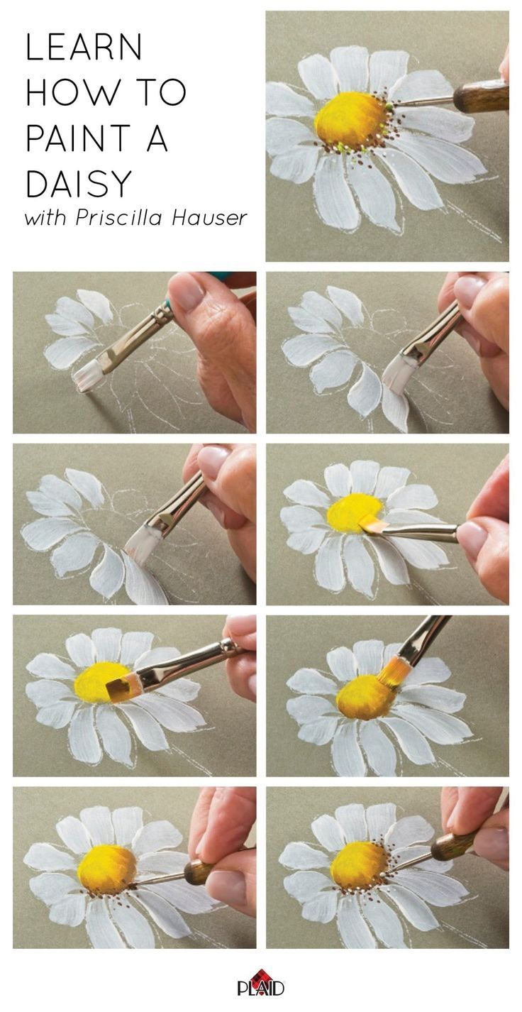 Diy daisy painting pictures photos and images for facebook tumblr diy daisy painting izmirmasajfo Images