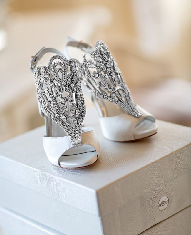 Beautiful Custom Made Bridal Shoes Pictures, Photos, And