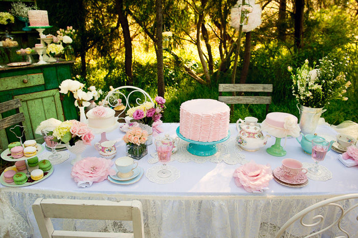Afternoon Garden Tea Party Pictures Photos And Images
