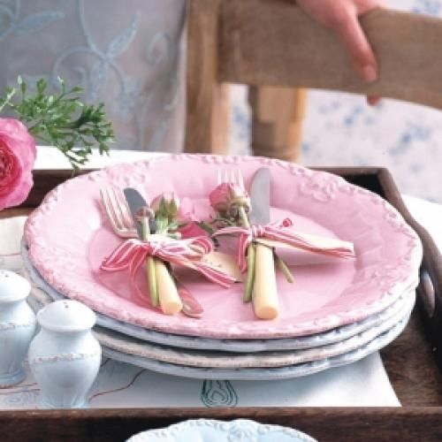 Pretty Pink Dinner Plates Pictures, Photos, And Images For