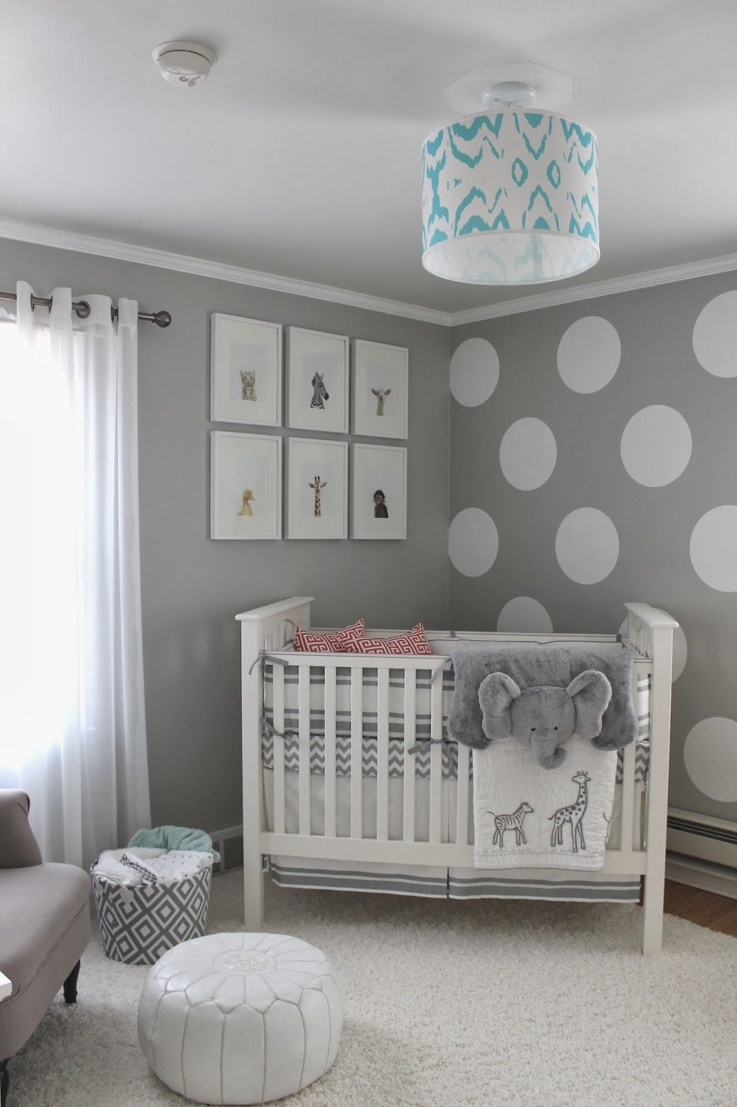 Gray baby room pictures photos and images for facebook for Decoration chambre de bebe unisex