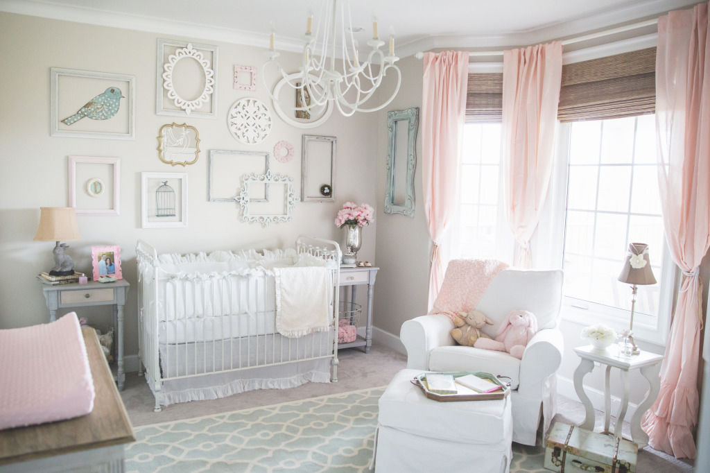 Shabby Chic Girls Baby Room Pictures Photos and Images for