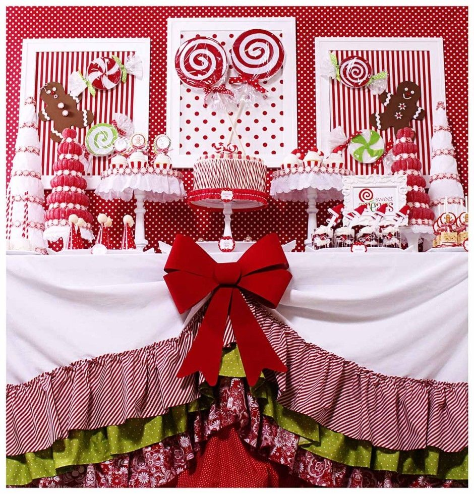 Christmas Decorations For A Party: Christmas Table Decorations Pictures, Photos, And Images