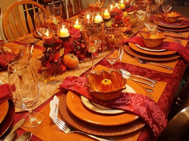 Thanksgiving Table Pictures Photos And Images For