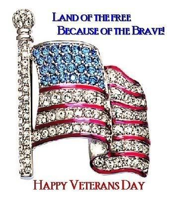 Land Of The Free Because Of The Brave Happy Veterans Day