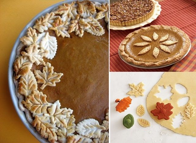 Pie crust ideas for thanksgiving pictures photos and for Apple pie decoration