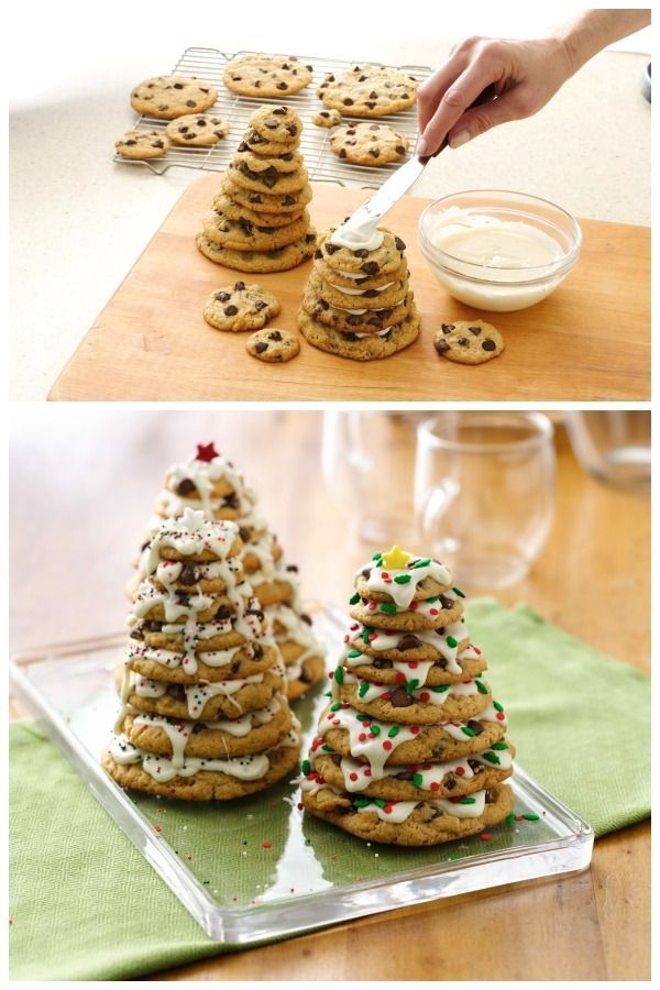 Chocolate Chip Cookie Christmas Tree Pictures, Photos, and Images ...