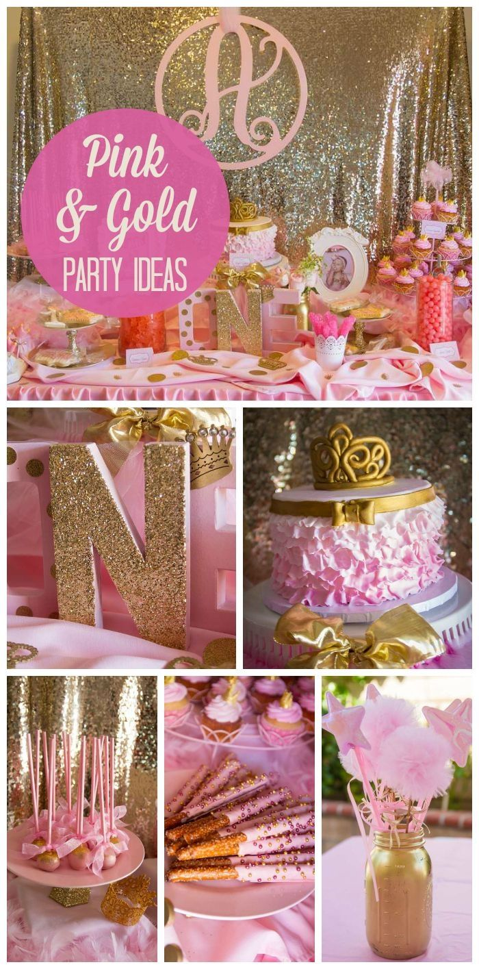 Girls Pink And Gold Party Theme Pictures, Photos, and Images for ...