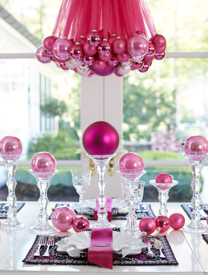Christmas ornament table and chandelier pictures photos and christmas ornament table and chandelier mozeypictures Image collections