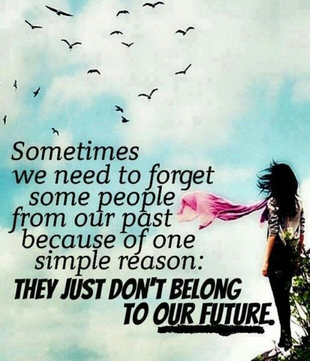 Forget The Past Quotes: Forget People From Our Past Pictures, Photos, And Images