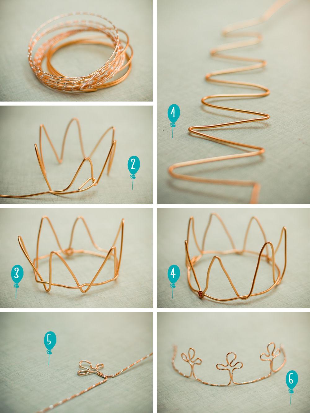 Как сделать корону своими руками пошагово
